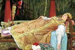 Казка про мертву царівну та сімох богатирів