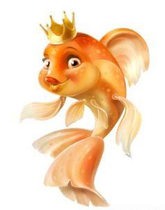 Казка про рибалку та золоту рибку