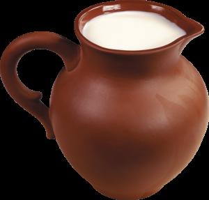 Баба і гладущик молока