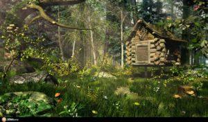 Лісова бабуся