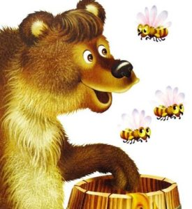 Бджоли і ведмідь