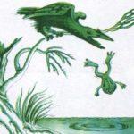 Жаба і ворона