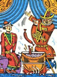 Жадібний бай і Алдар-Косе