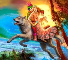 Казка про королевича та залізного вовка