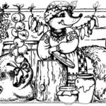 Лисиця на зимівлі у вовка та ведмедя