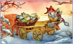 Лисичка-сестричка і вовк-панібрат (українська народна казка)
