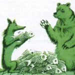 Ведмідь та лисиця