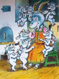 Вовк та семеро козенят