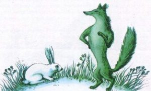 Заєць та лисиця