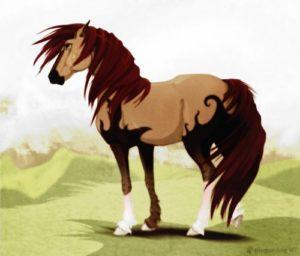 Кінь-велетень