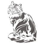 Велика кішка з ведмедя