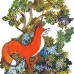 Лисиця і куріпка