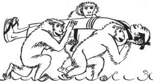 Мавпи й божество Дзідзо
