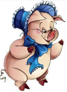 Свинка-Парасинка та попова льоха