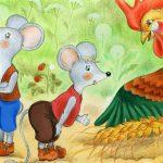 Півник та двоє мишенят