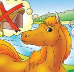 З коня верблюд