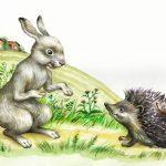 Їжак та заєць